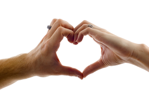 love is in your hands: appreciation, respect, vulnerability, mutual understanding, trust, love.