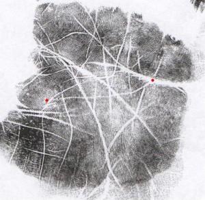 mercury attack line palm reading marker