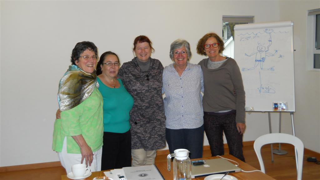 Jena Griffiths IIHA hand analysis course in Johannesburg South Africa